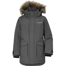 Didriksons 1913 Madi Parka Boys, coal black